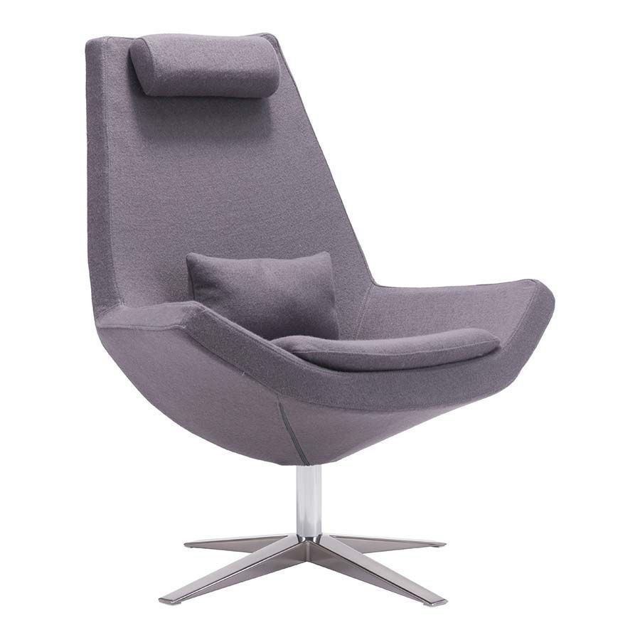 Picture of Bruges Occa Chair, Charcoal *D