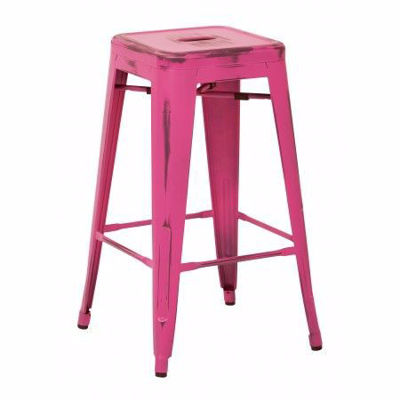 Picture of Bristow Ant Pink Barstool 2 Pack