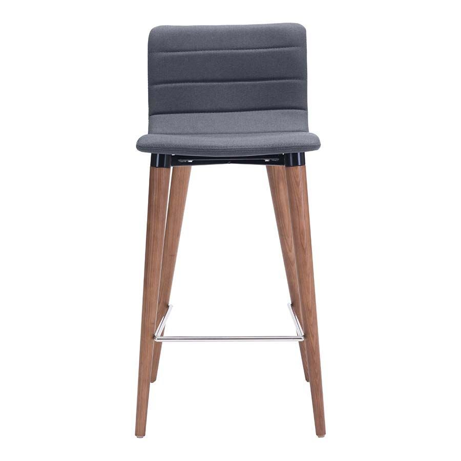 Picture of Jericho Counter Chair, Gray - Set of 2 *D