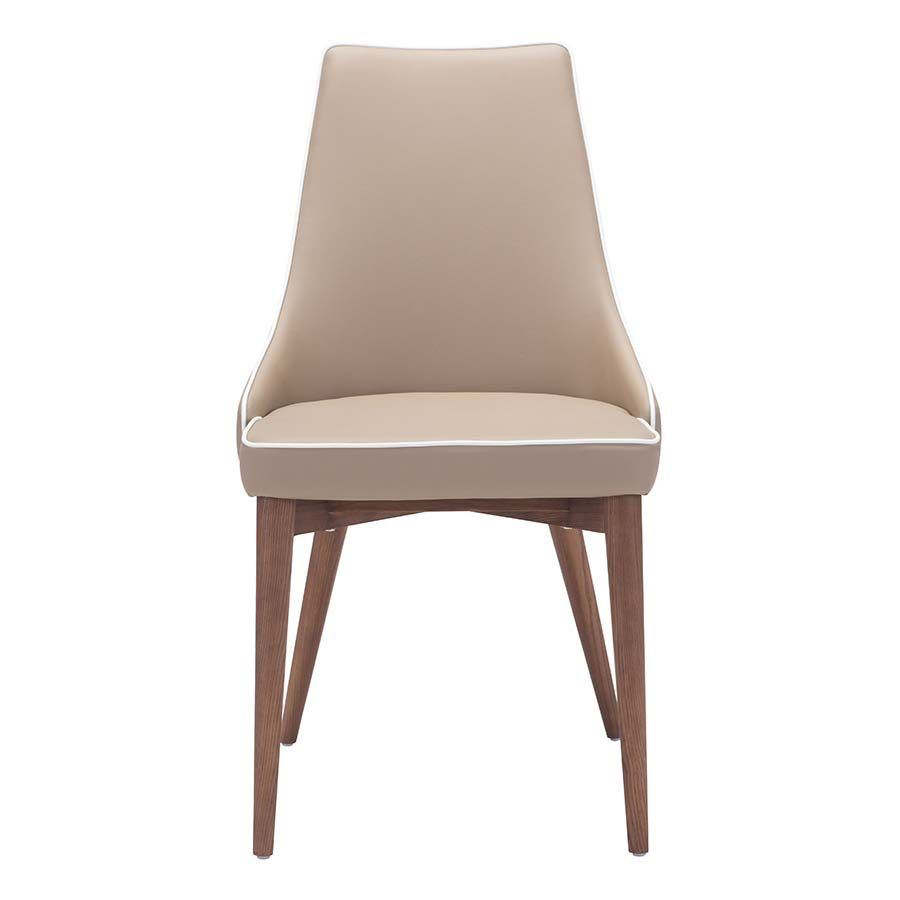 Picture of Moor Dining Chair, Beige - Set of 2 *D