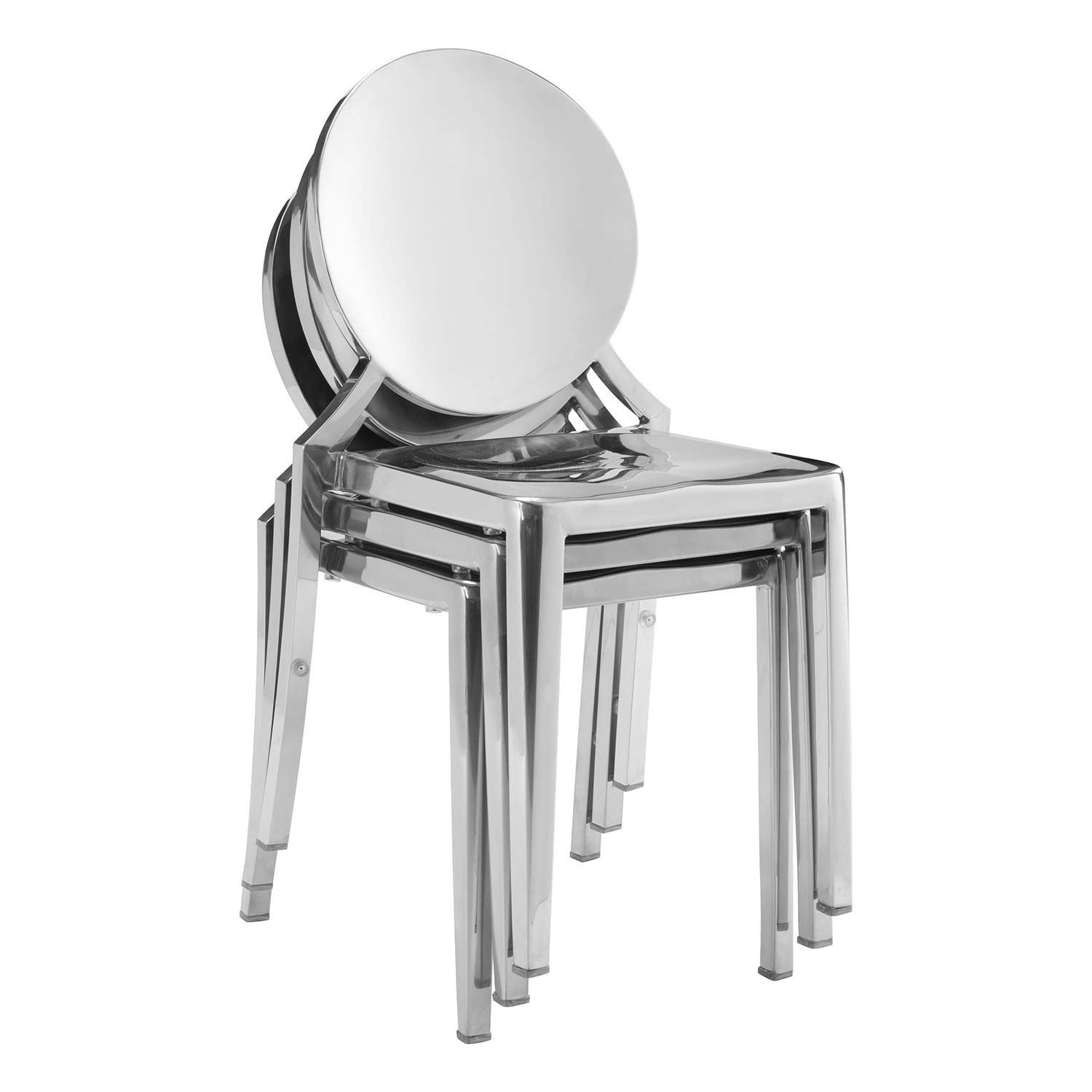 Picture of Eclispe Dining Chair,, Stainless, Set of 2 *D