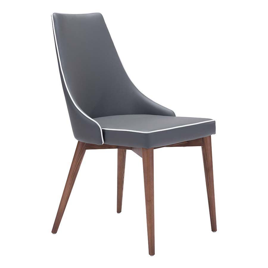 Picture of Moor Dining Chair, Dark Gray - Set of 2 *D