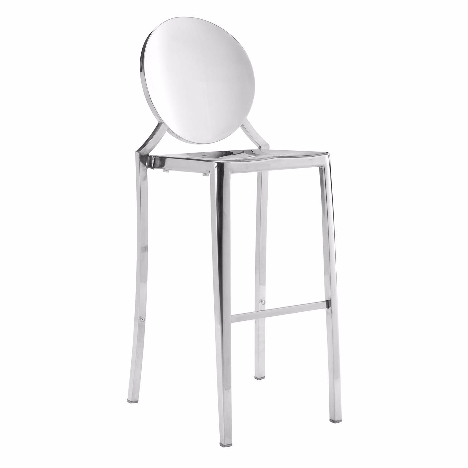 Picture of Eclispe Bar Chair, Stainless Steel, Set of 2 *D