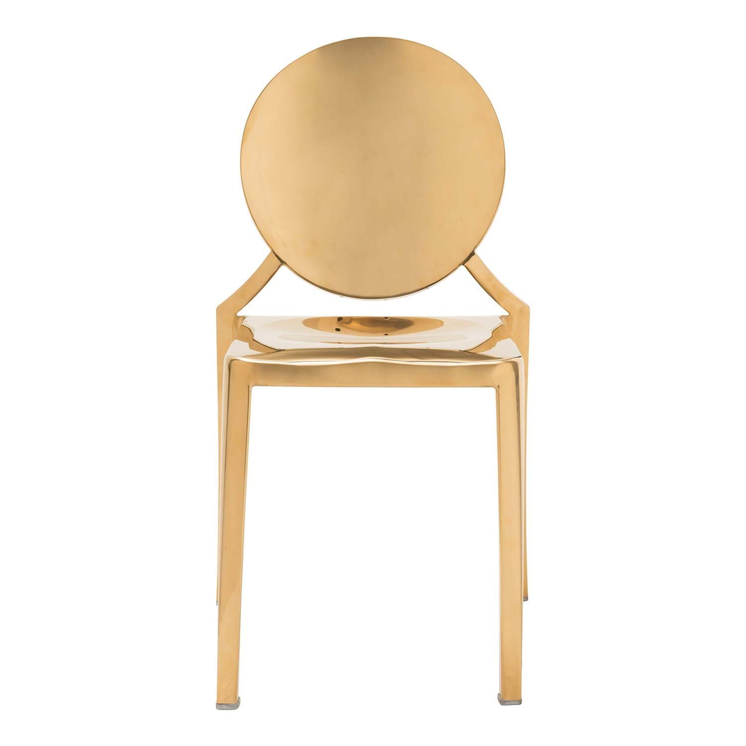 Picture of Eclispe Dining Chair, Gold, Set of 2 *D