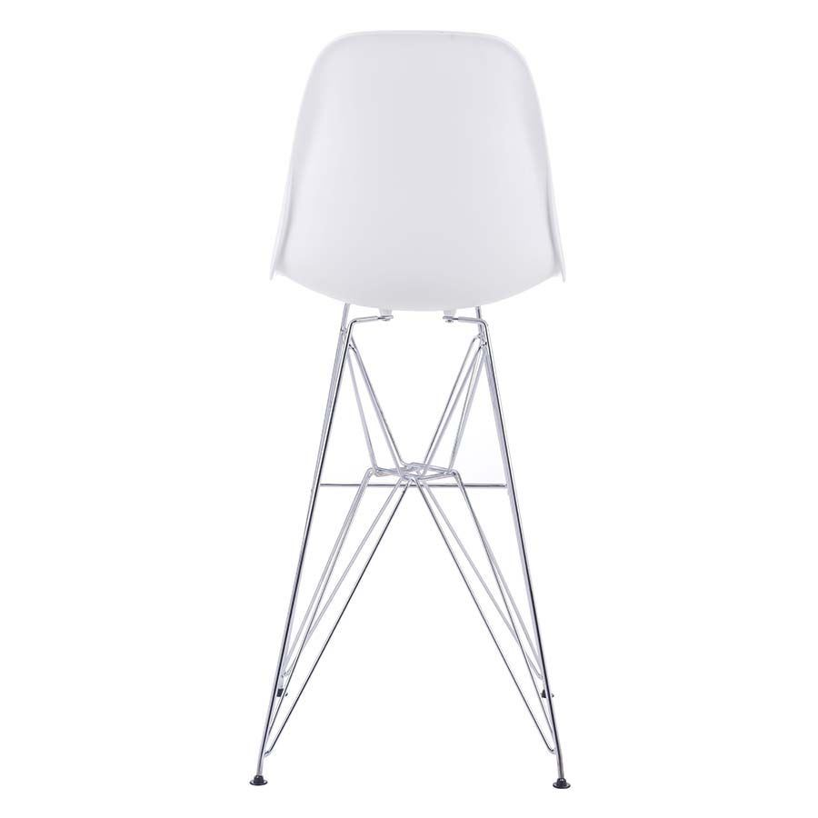 Picture of Zip Bar Chair, White *D
