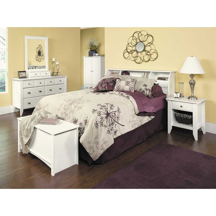 Picture of Shoal Creek White Twin Headboard