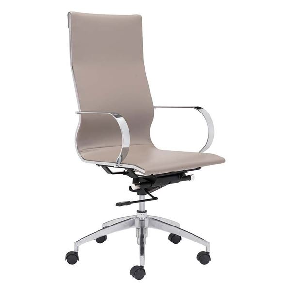 Picture of Glider Hi Office Chair Taupe *D