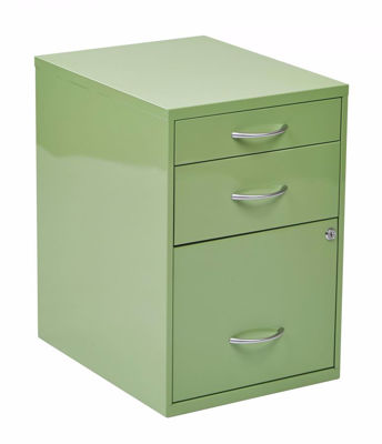 Picture of Green Storage File Cabinet *D