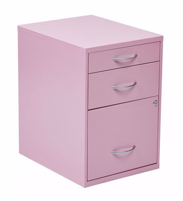 Picture of Pink Storage File Cabinet *D
