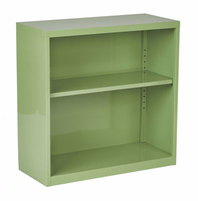 Picture of Green Metal Bookcase *D