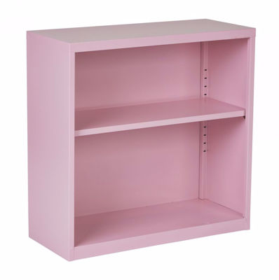 Picture of Pink Metal Bookcase *D
