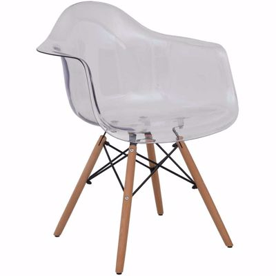 Picture of Rowan Clear Arm Chair