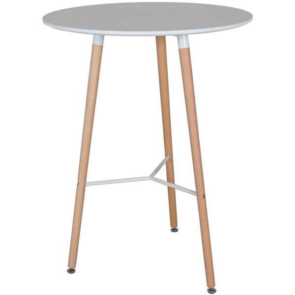 Retro 40 White Bar Table Td 55