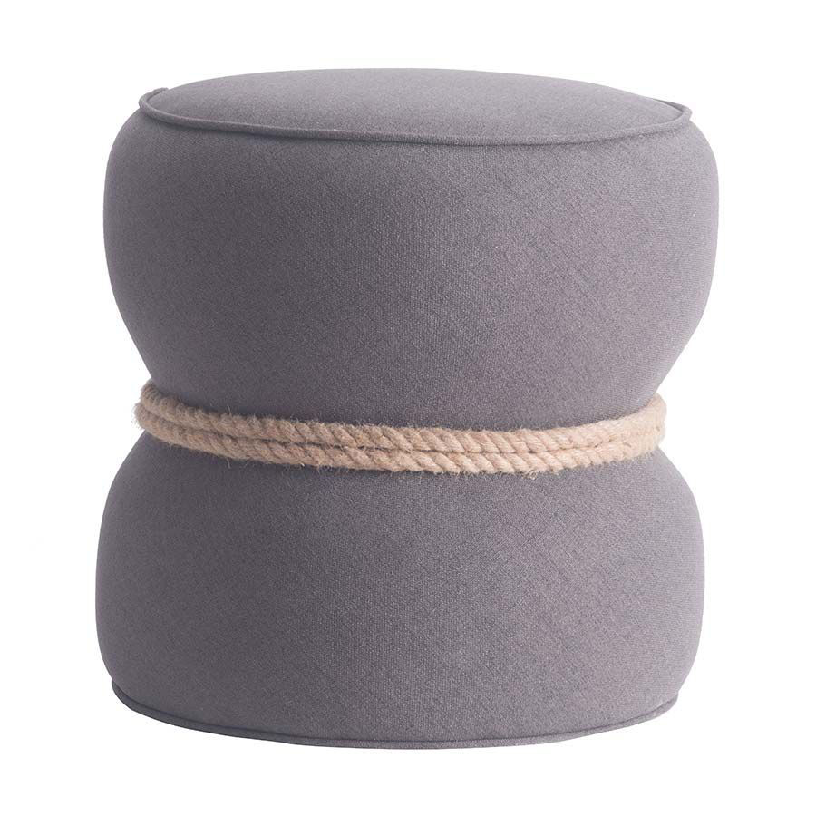 Picture of Tubby Ottoman Gray *D