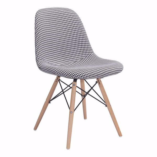 Picture of Sappy Dining Chair, Houndstooth *D