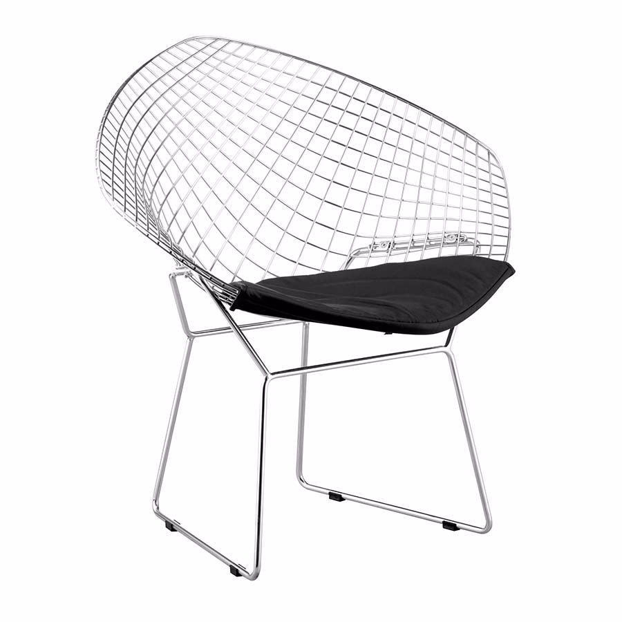 Picture of Net Dining Chair, Black - Set of 2 *D