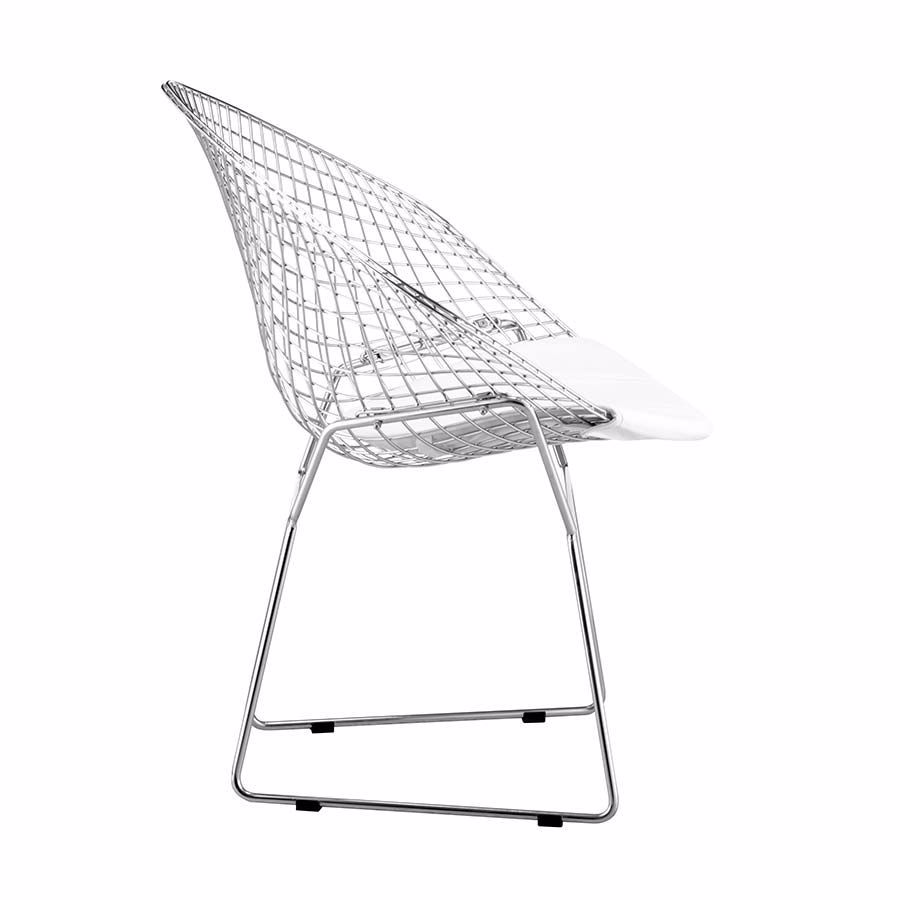 Picture of Net Dining Chair, White - Set of 2 *D