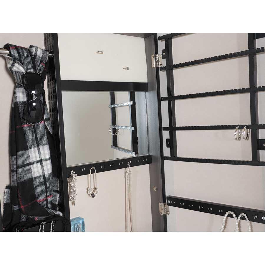 Picture of Silver Lattice Mirror Border Jewelry Storage Mirror
