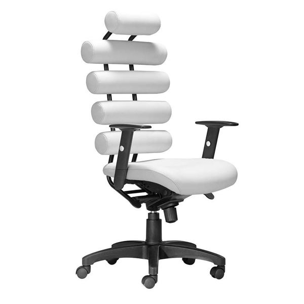Picture of Unico Office Chair White *D