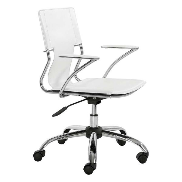 Picture of Trafico Office Chair White *D