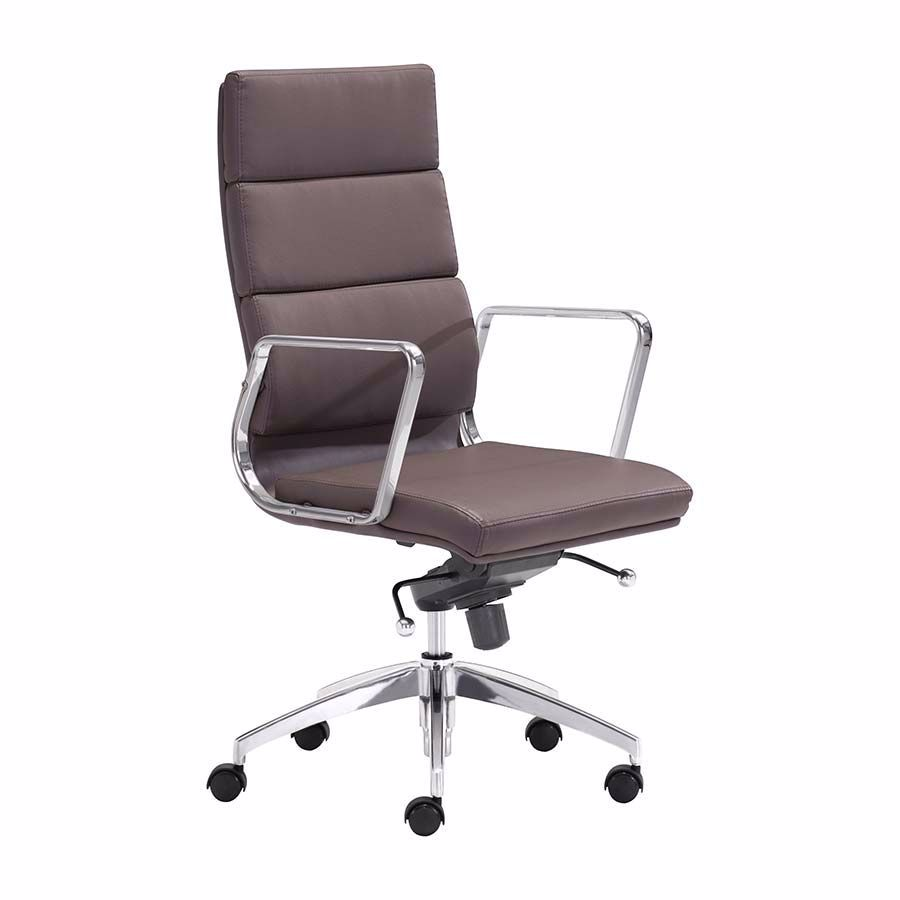 Picture of Engineer Hi Office Chair Espres *D