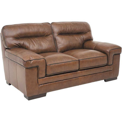 Picture of Brambil Leather Loveseat