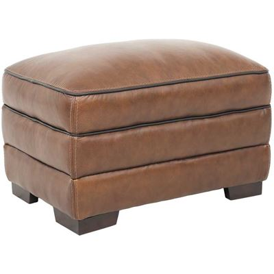 Picture of Brambil Leather Ottoman