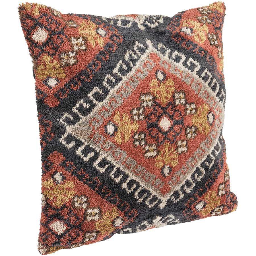 22x22 Black Loop Stitch Pillow P P110p0469blorpil3 Chn Loloi