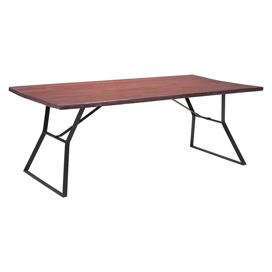 Picture of omaha dining table cherry oak d