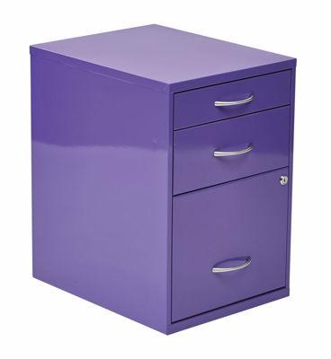 Picture of Purple Storage File Cabinet *D