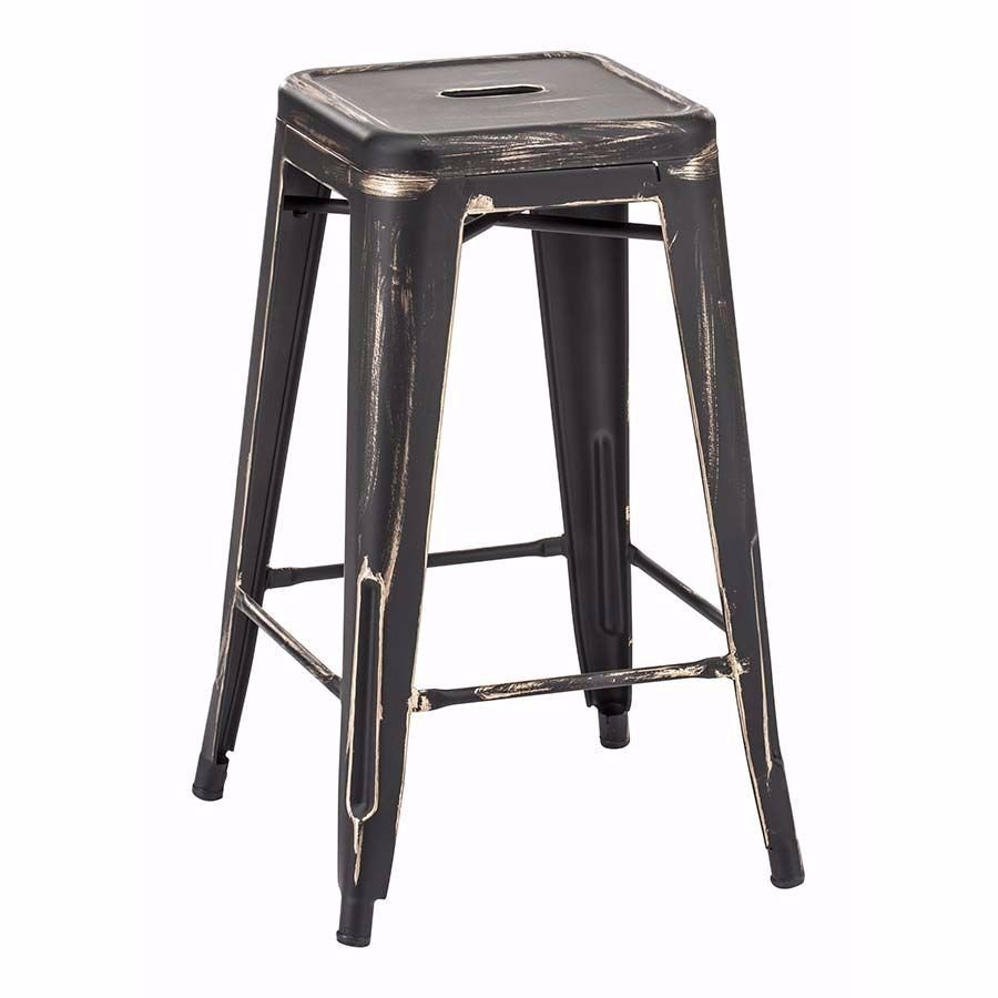 Picture of Marius Counter Stool, Black - Set of 2 *D