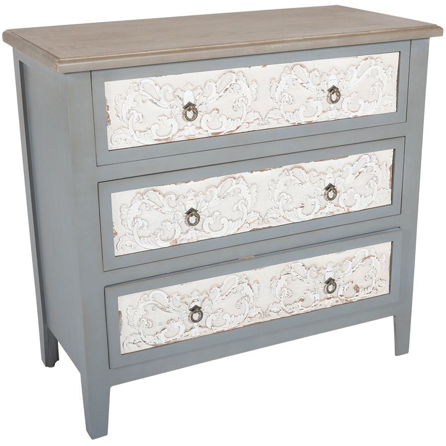 Picture of Vintage Grey Accent Chest