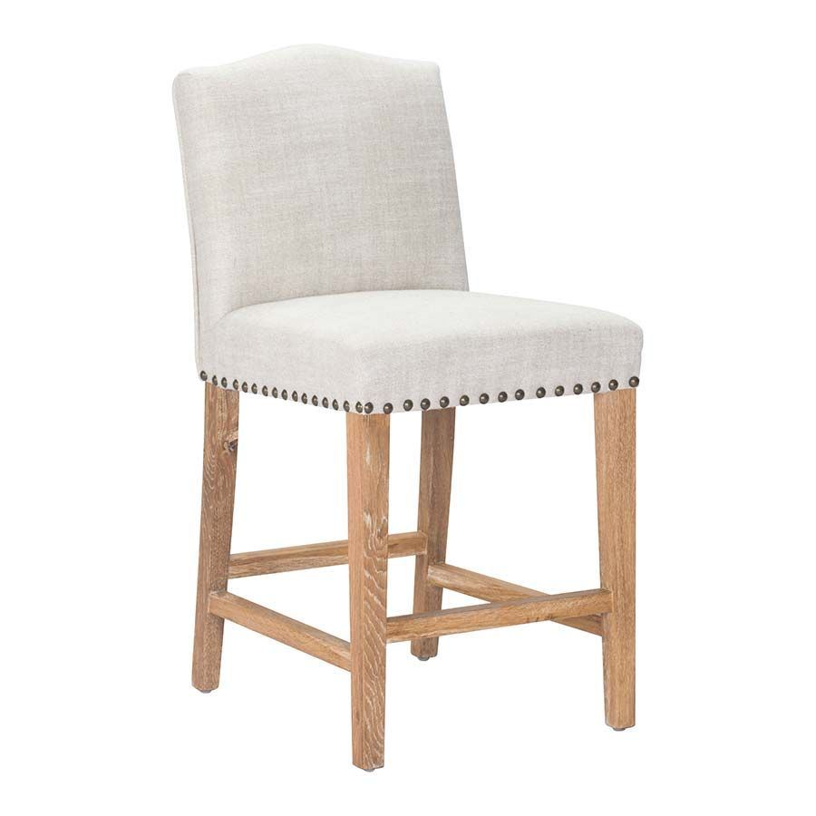 Picture of pasadena counter chair beige d