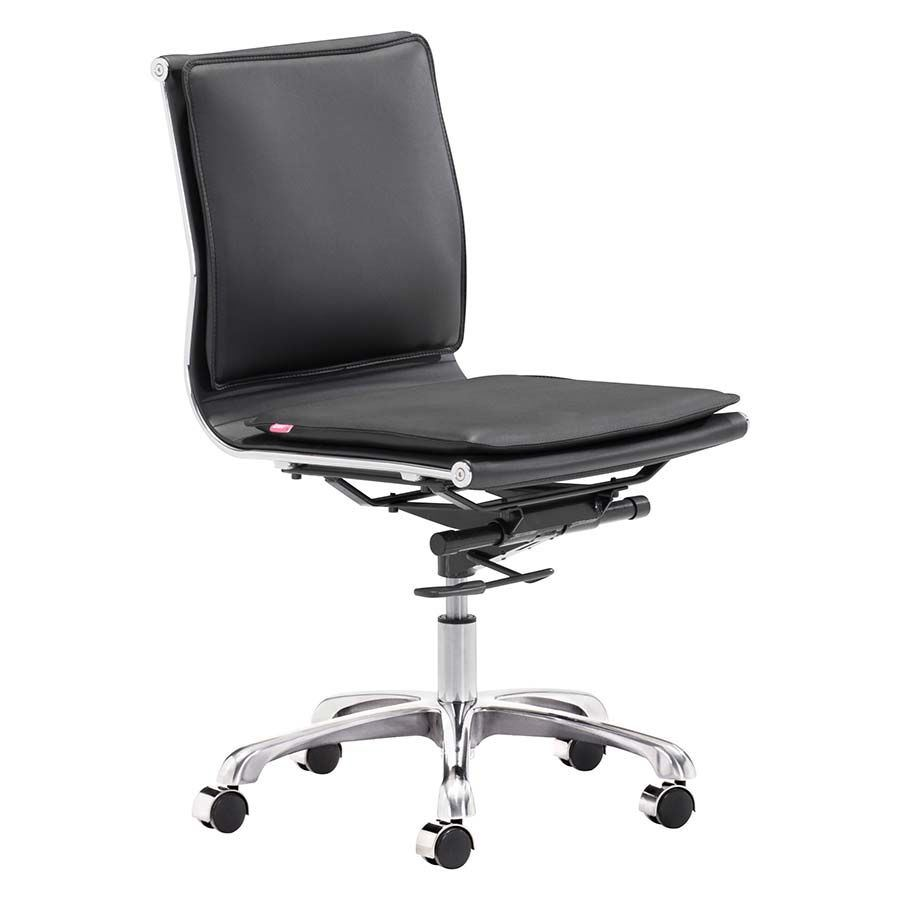 Picture of LP Armless Office Chair Black *D