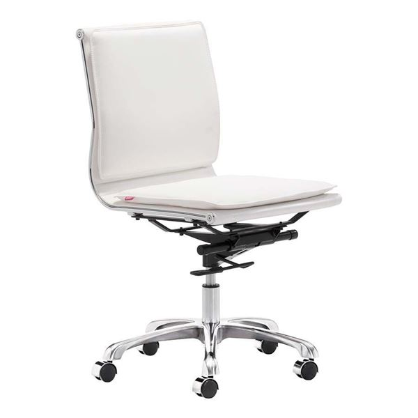 Picture of LP Armless Office Chair White *D