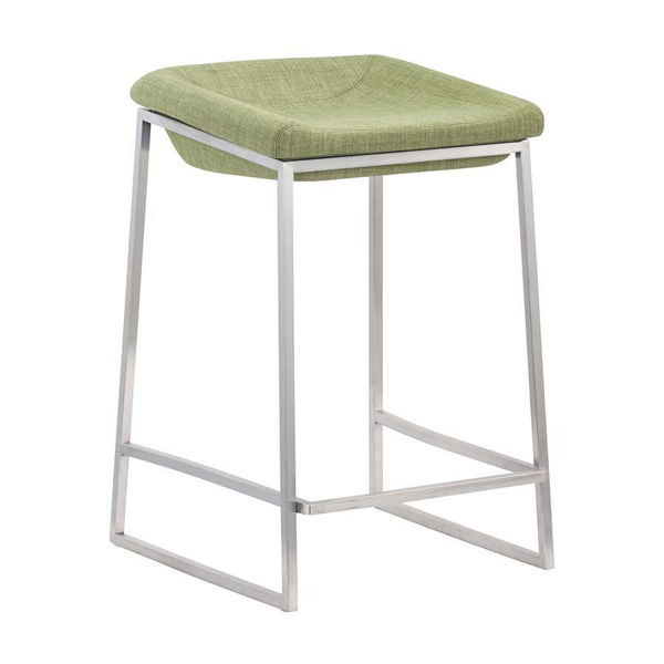 Picture of Lids Counter Stool, Green - Set of 2 *D