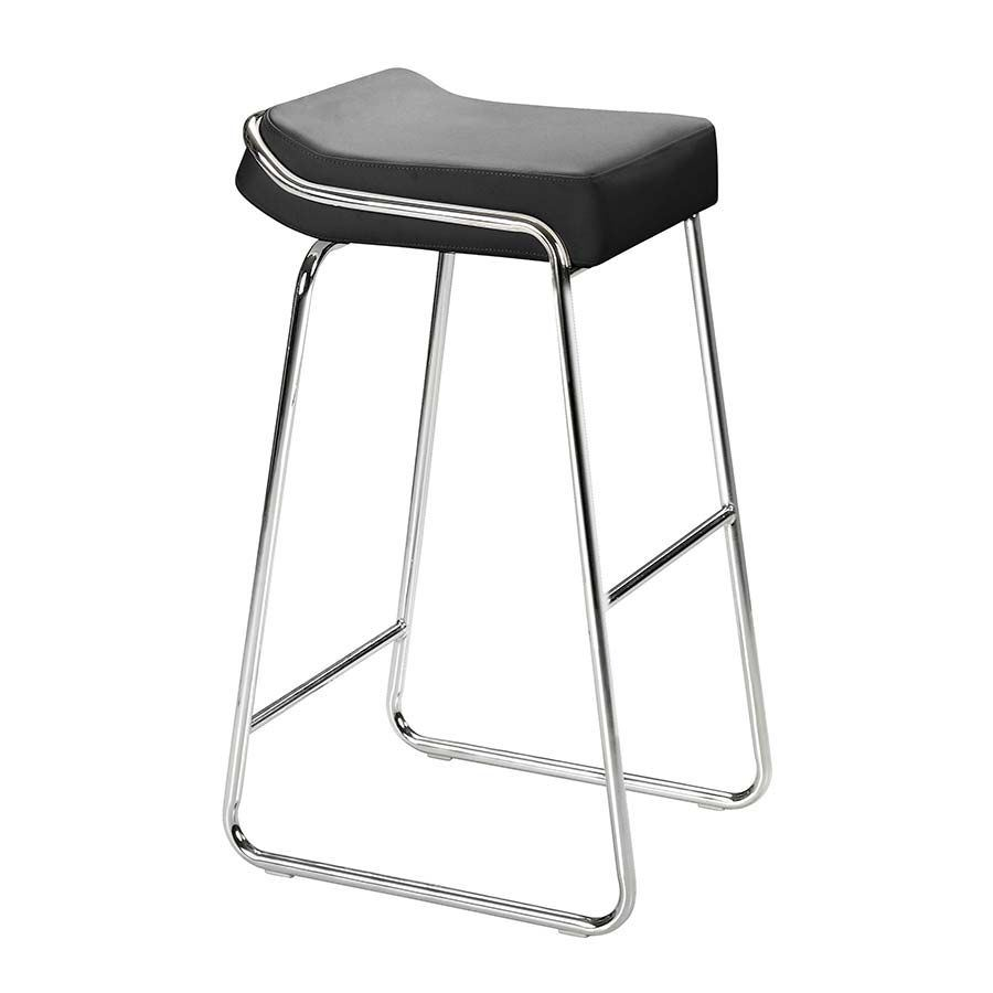Picture of Wedge Barstool, Black - Set of 2 *D