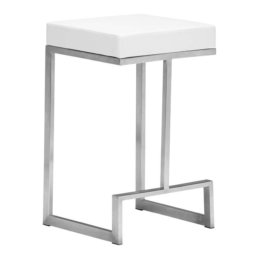 Picture of Darwen Counter Stool, White - Set of 2 *D