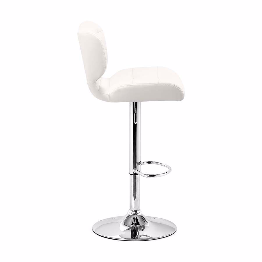 Picture of Formula Bar Chair, White *D