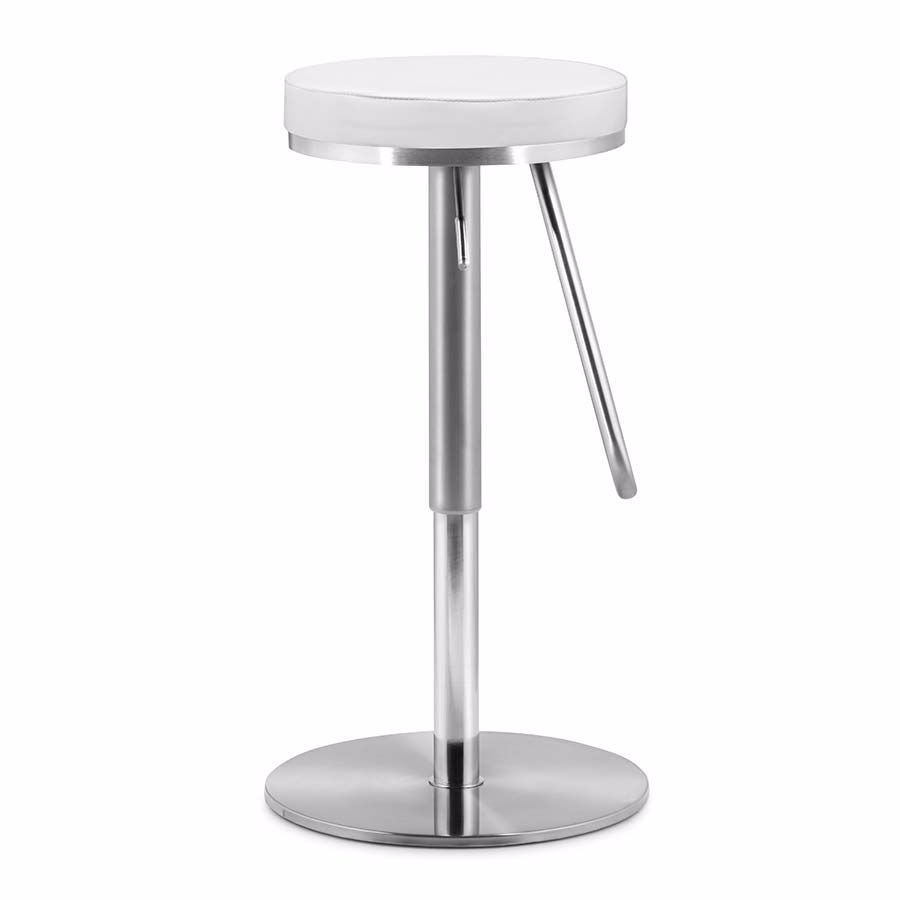 Picture of Soda Barstool, White *D