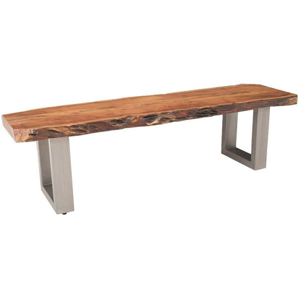 Picture of Live Edge Dining Bench