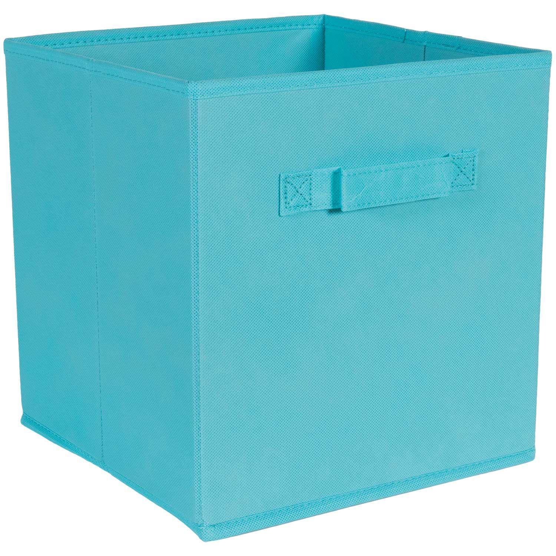 Picture of Aqua Fabric Bin