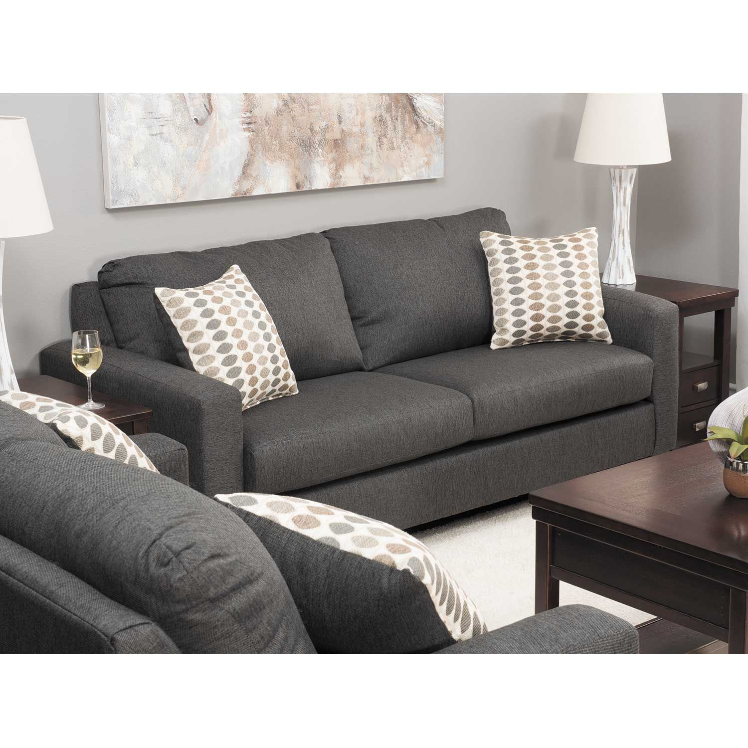 Picture of Piper Carbon Loveseat