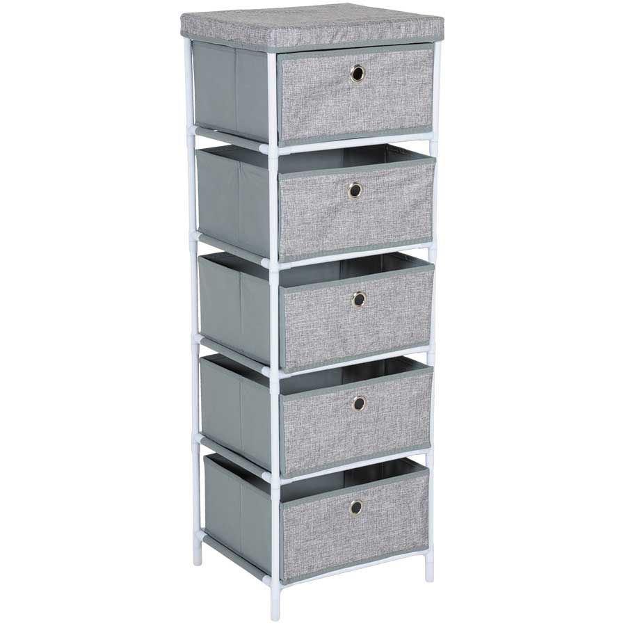 47884e98fd9 5 Drawer Storage Bin | WM-16620 | Cambridge Home | AFW.com