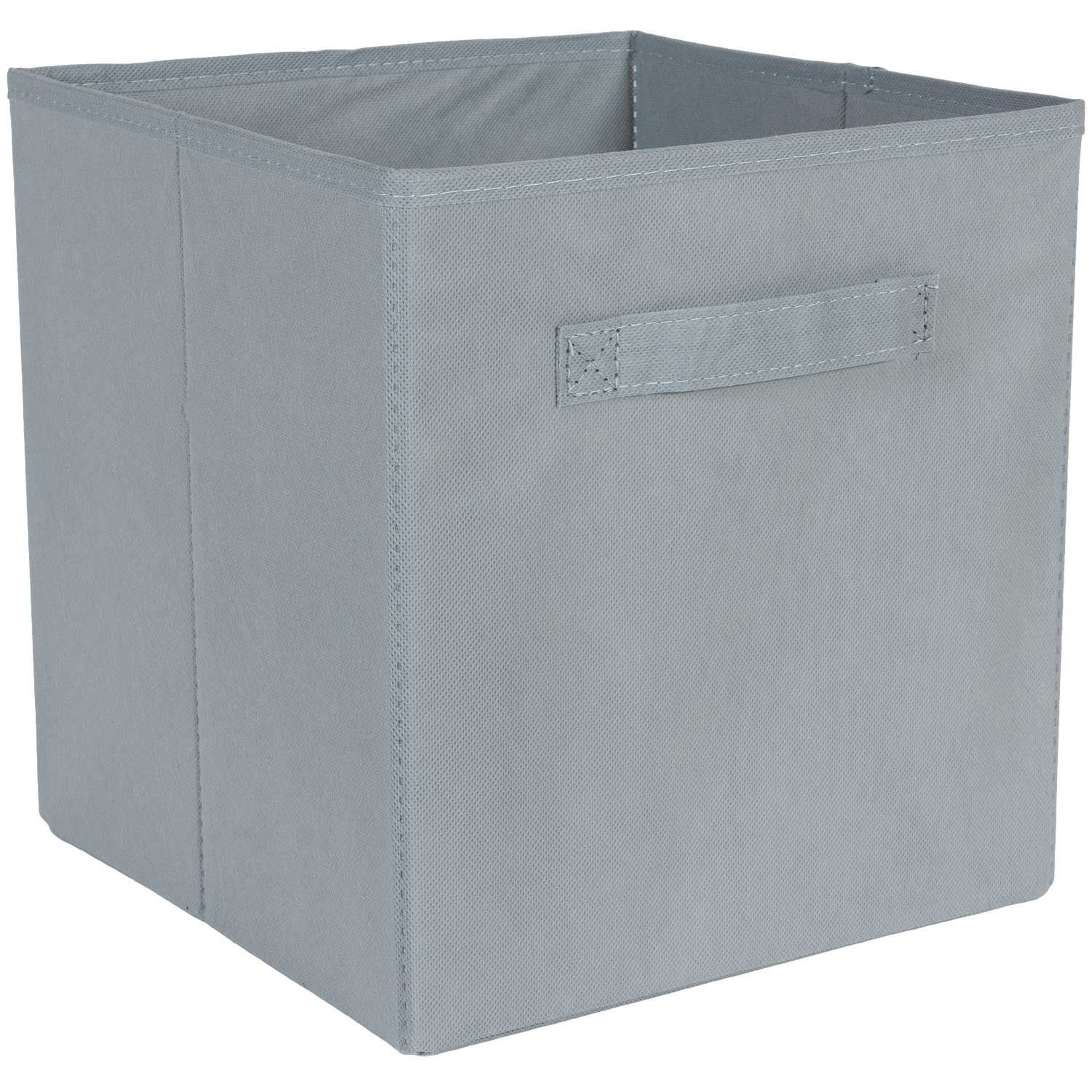 Picture of SystemBuild Gray Fabric Bin
