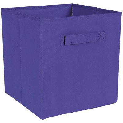 Picture of SystemBuild Purple Fabric Bin
