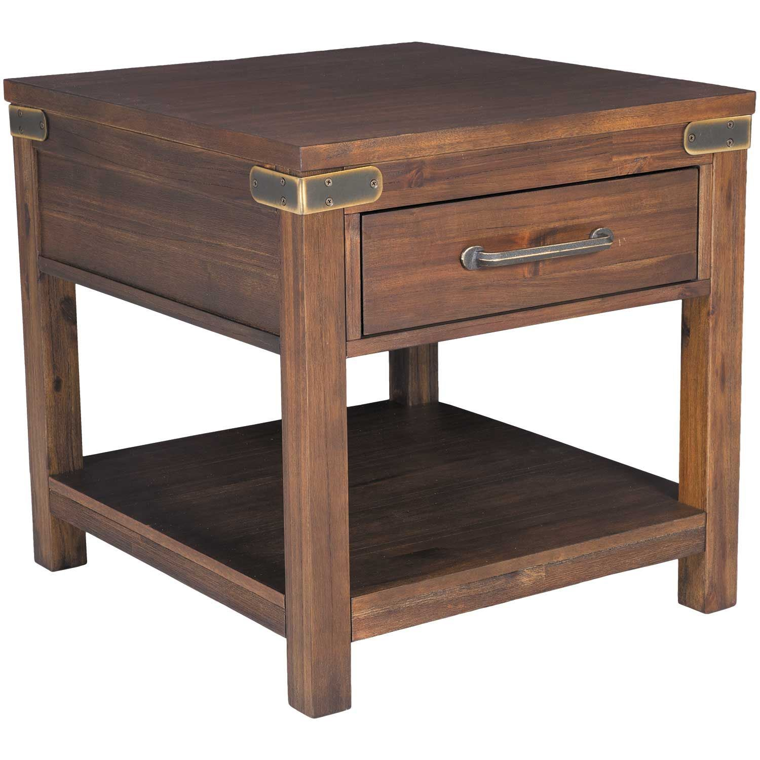 Picture of acacia end table