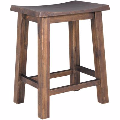 Picture of Acacia Saddle Stool