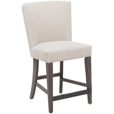 """Picture of Symmetry Fully Upholstered 24"""" Barstool"""