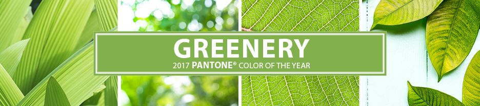 The 2017 Pantone Color of the Year: Greenery